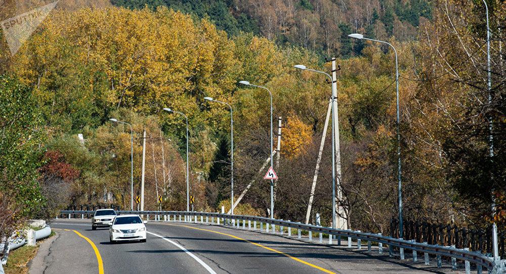 Осень в Алматы. Медео