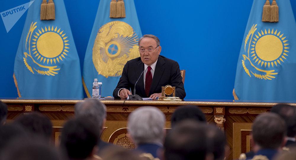 Президент РК Нурсултан Назарбаев