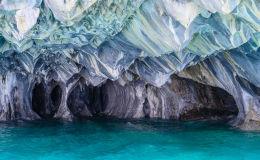 Чилидегі мәрмәр үңгірлер