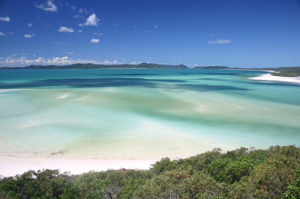 Пляж Уайтхэвен на острове Витсандей в Австралии