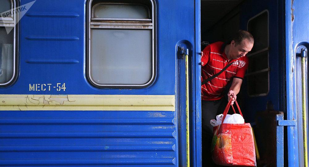 Пассажирский поезд