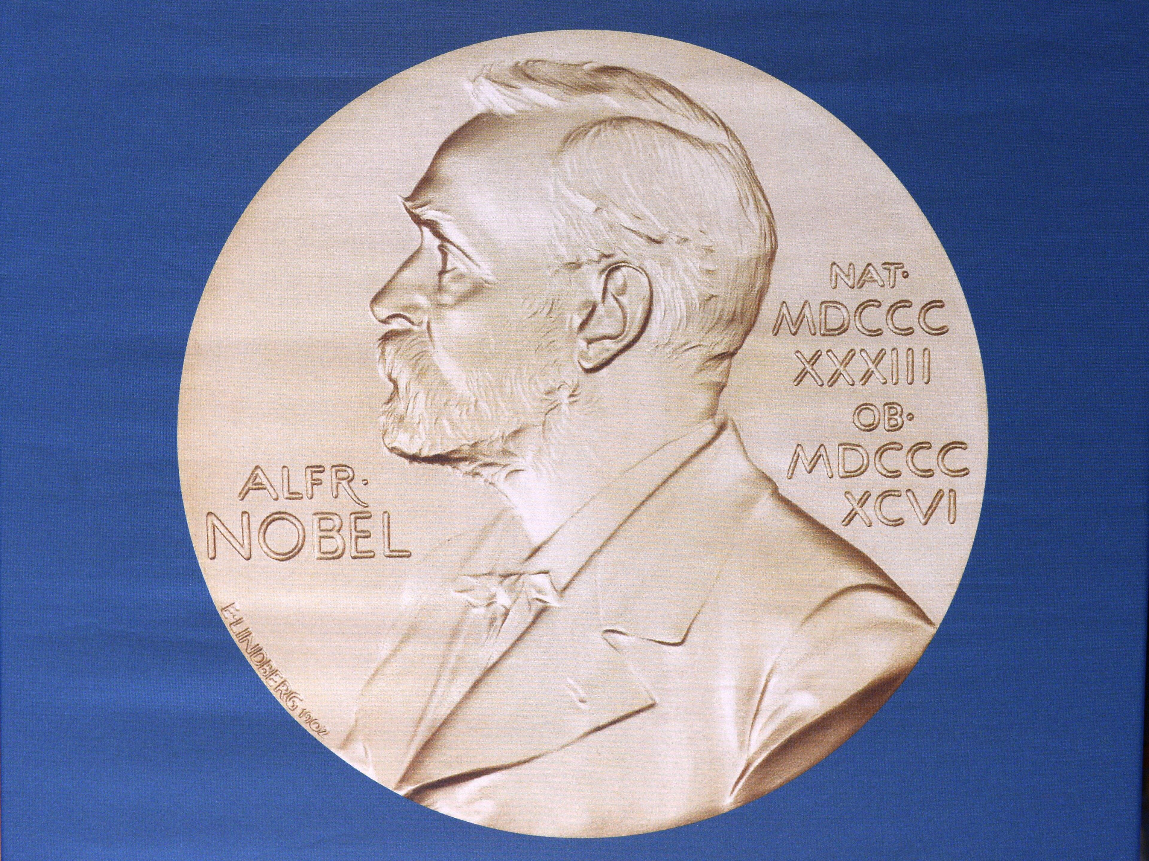 Медаль с изображением Альфреда Нобеля