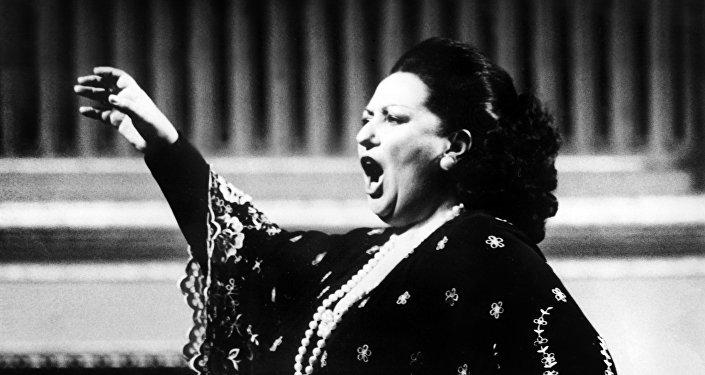 Оперная певица Монсеррат Кабалье выступает в Вене, 1979 год, архивное фото