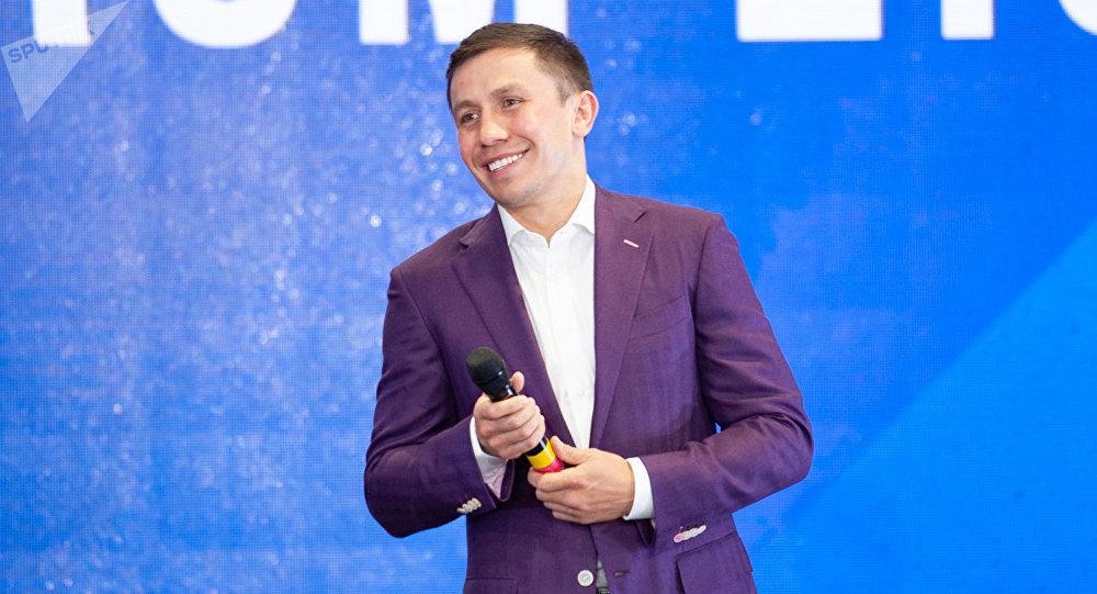 Геннадий Головкин во время Syneq Business Forum