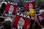 Акция протеста против назначения Верховного судьи Бретта Кавано