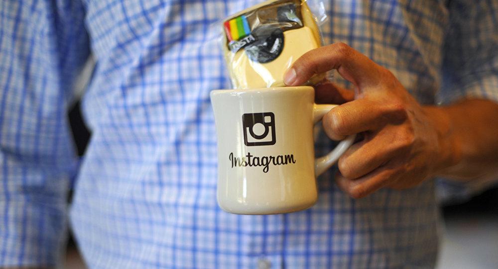 Кружка с логотипом Instagram