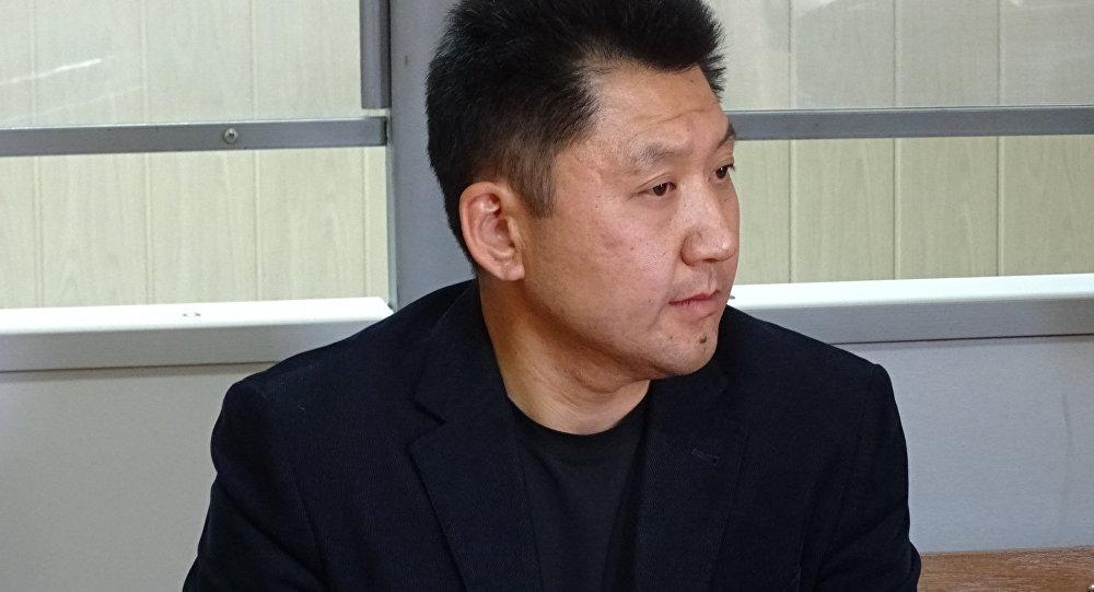 Юрий Пак во время судебного заседания