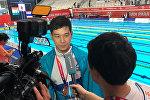 Пловец Дмитрий Ли