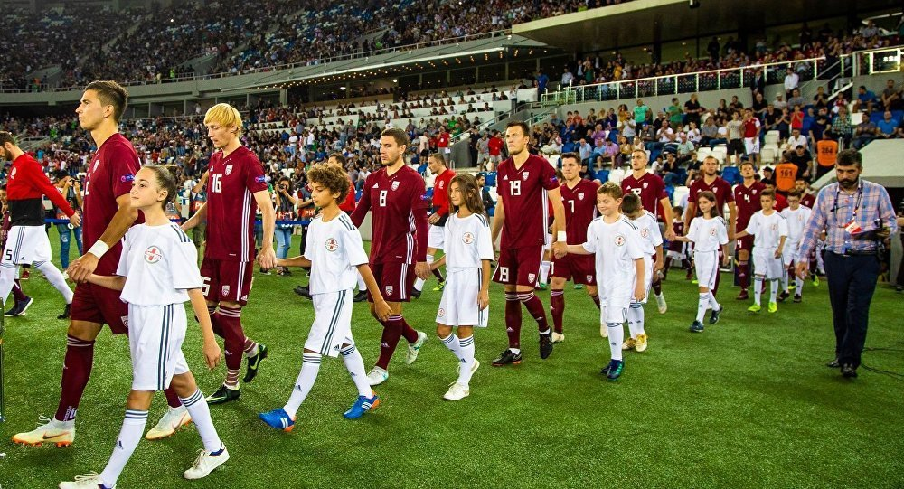 Сборная Латвии по футболу - Лига Наций