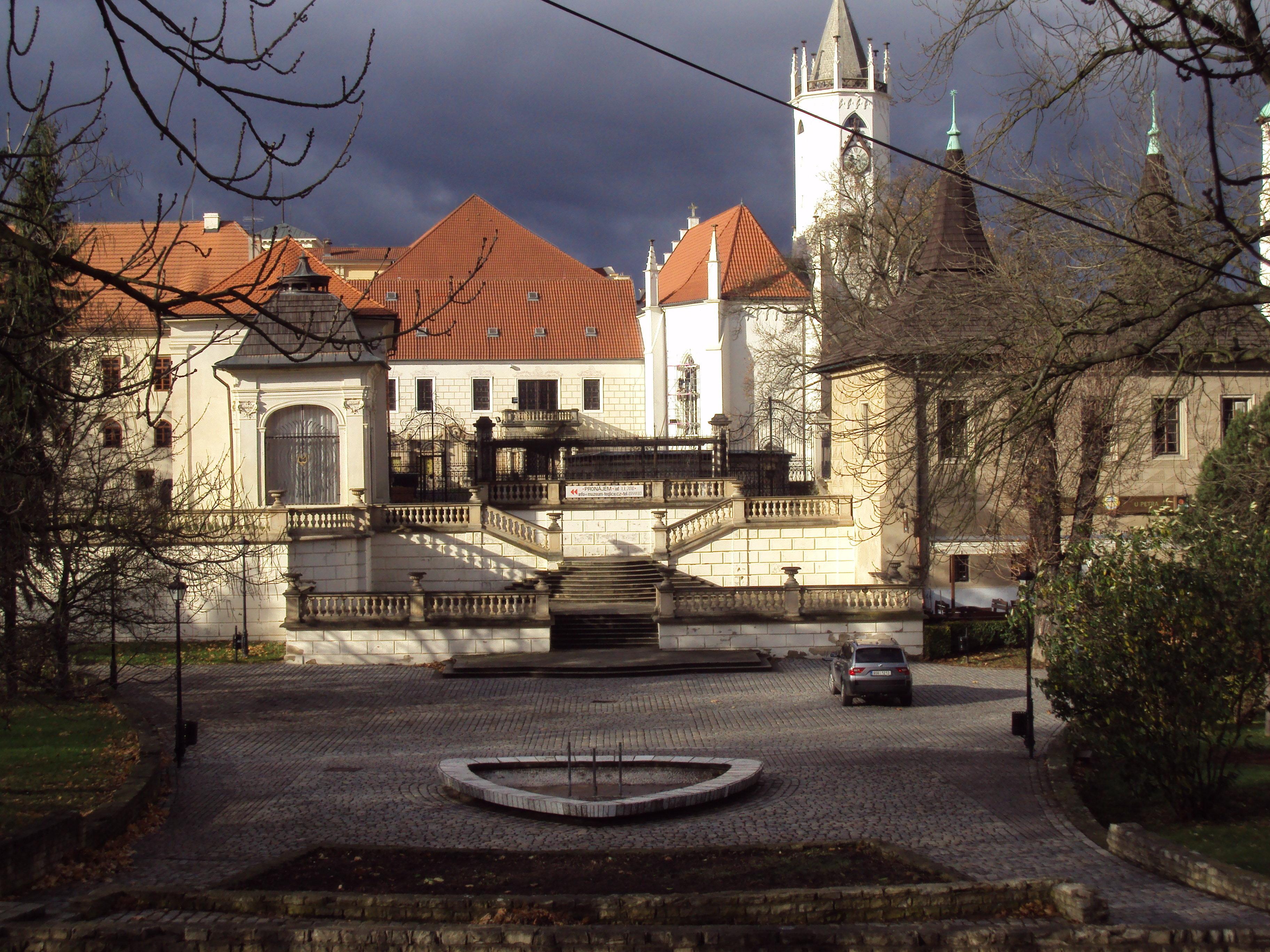 Достопримечательности города Теплице, Чехия