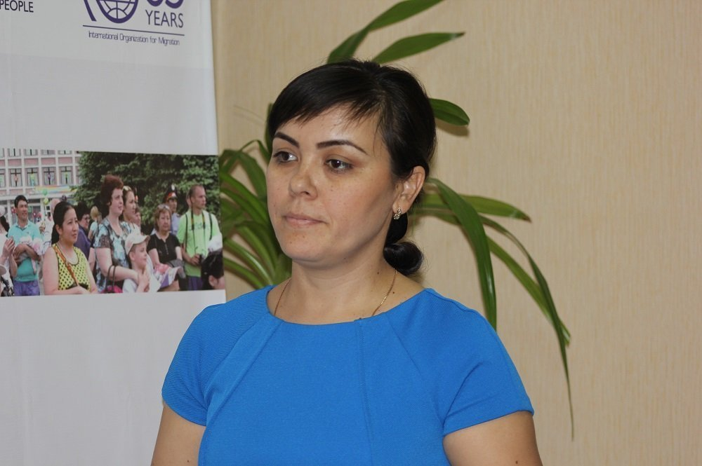 Сана сезім әйелдердің құқығы бастамалары орталығының вице-президенті Шахноза Хасанова