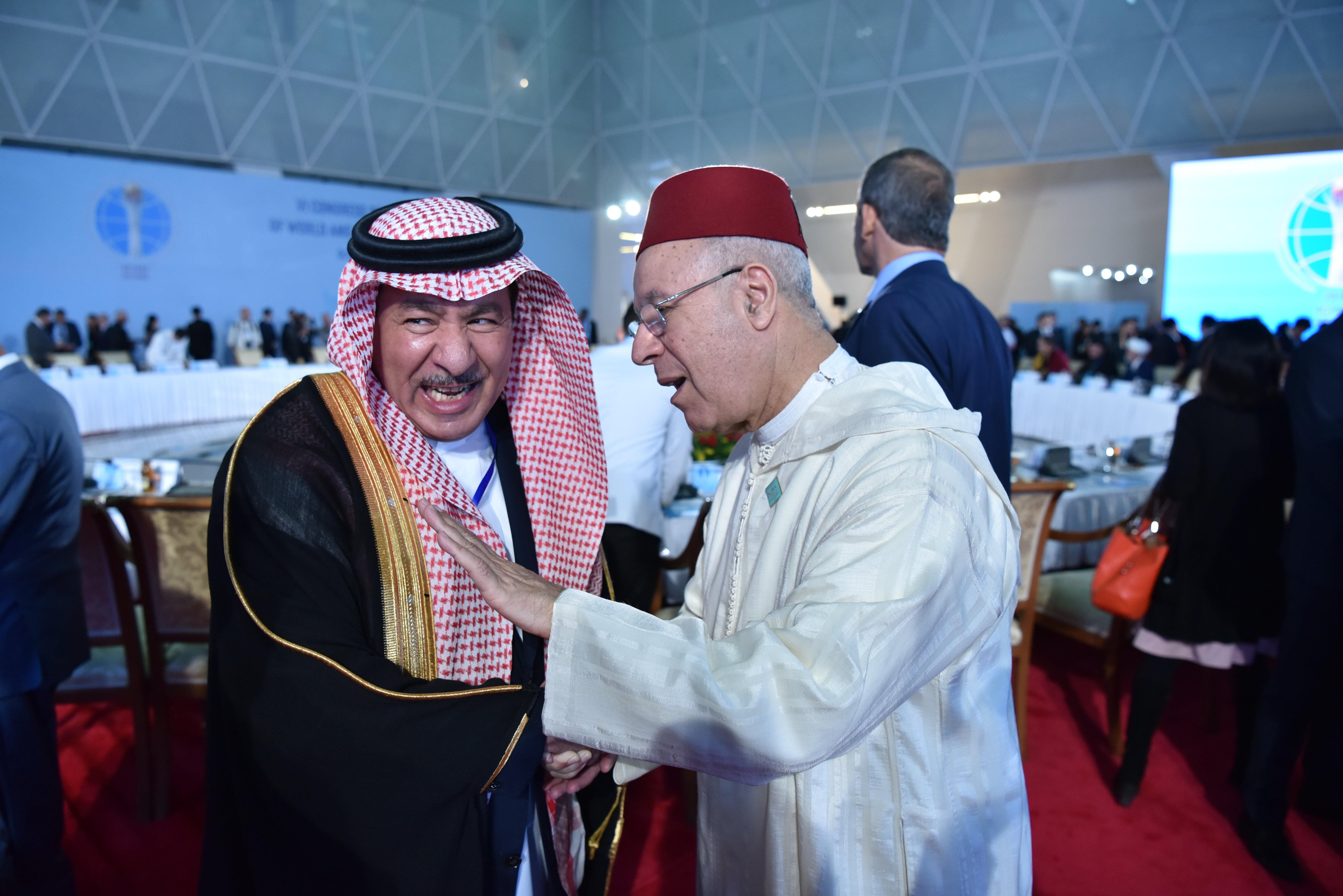 Участники и гости Съезда лидеров мировых и традиционных религий