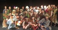 Асанәлі Әшімовтің шәкірттері жаңа театрдың тұсауын кесті