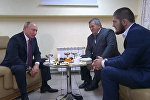 Путин Нурмагомедовпен кездесті
