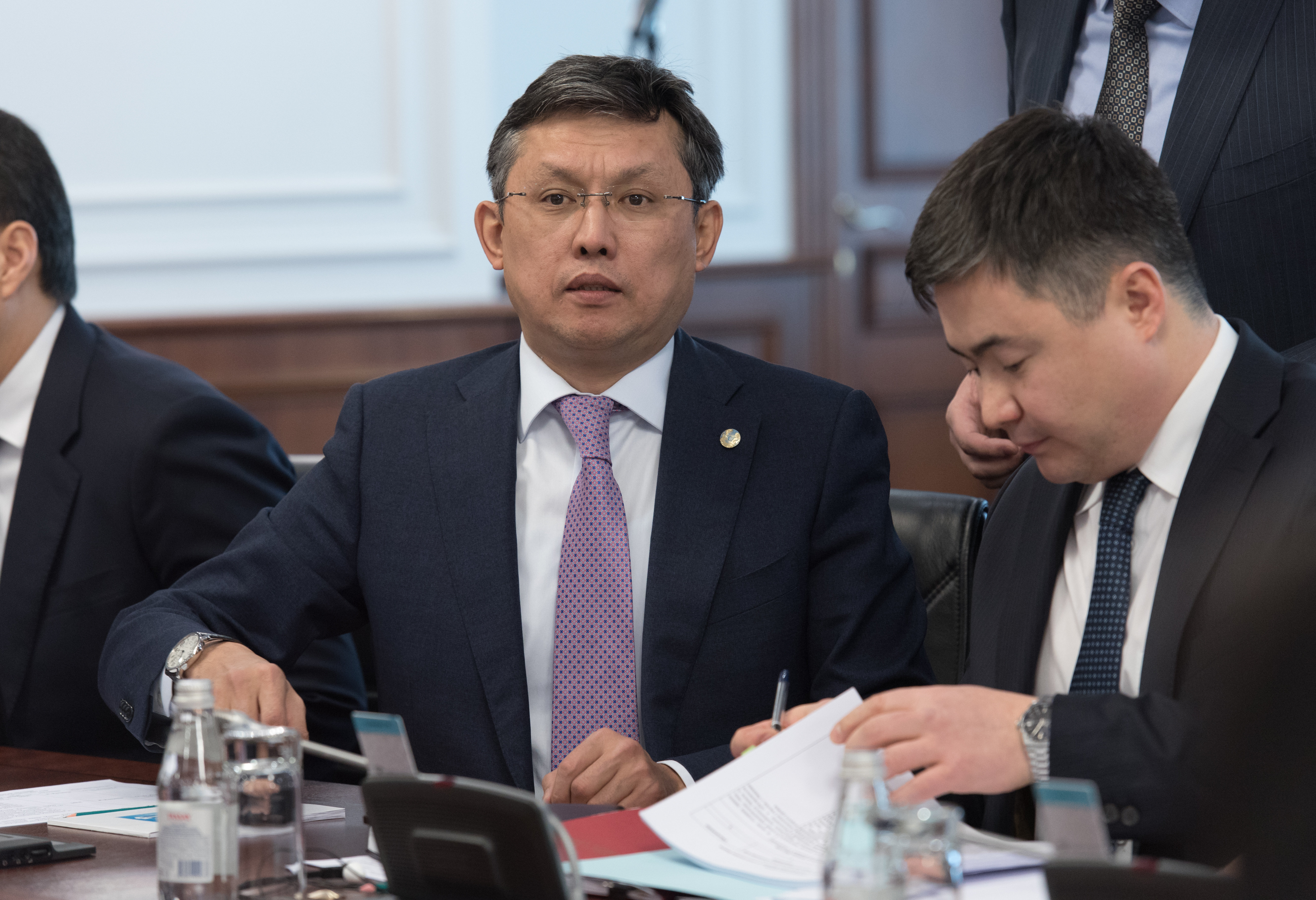 Министр финансов РК Бахыт Султанов