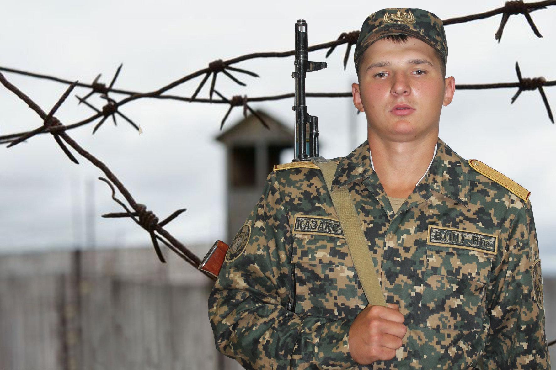 Военнослужащий срочной службы воинской части 6698 Иван Дорохин