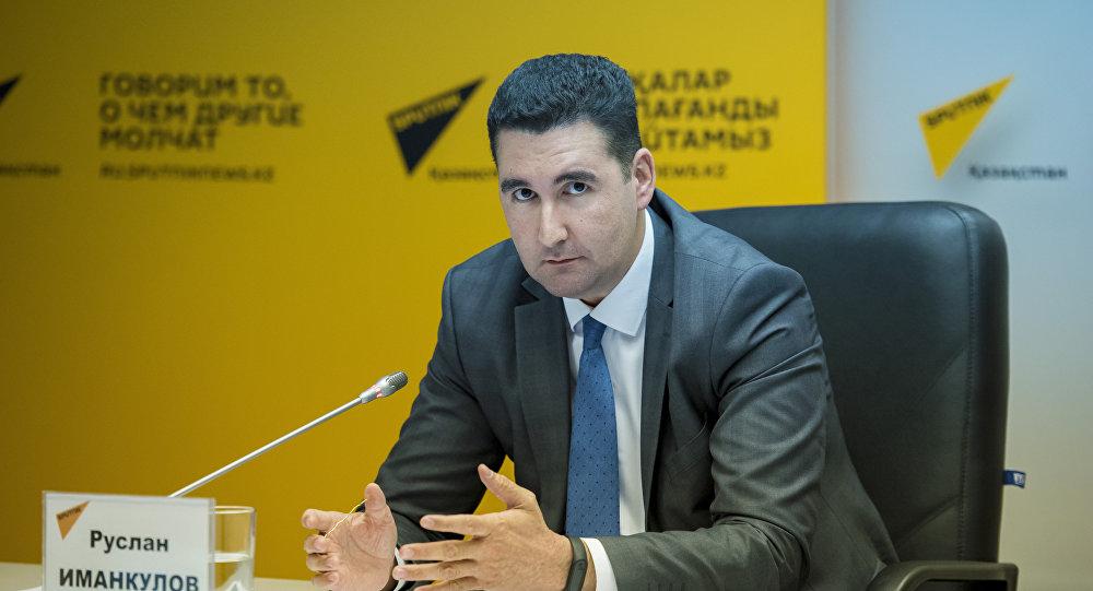 Руслан Иманқұлов, ҚТЖ басшысының кеңесшісі