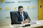 Пресс-конференция с участием Руслана Иманкулова