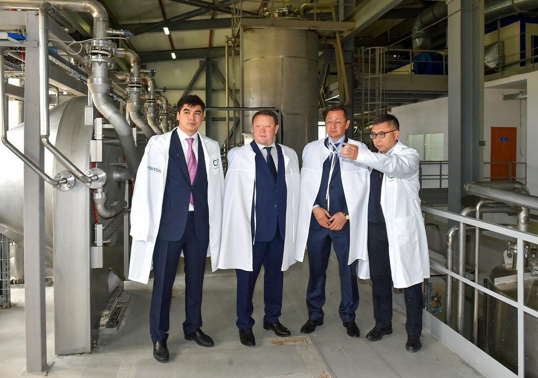 Завод Биохим после 8 лет простоя запустили в СКО