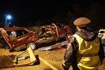 В Чувашии при столкновении автобуса с фурой погибли двенадцать человек