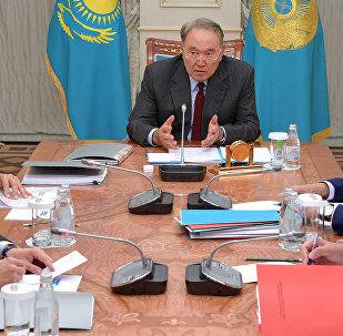 Встреча с президентом АОО Назарбаев Университет Шигео Катсу