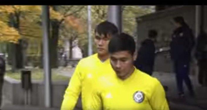 Лига наций: сборная Казахстана готовится к матчу с Латвией