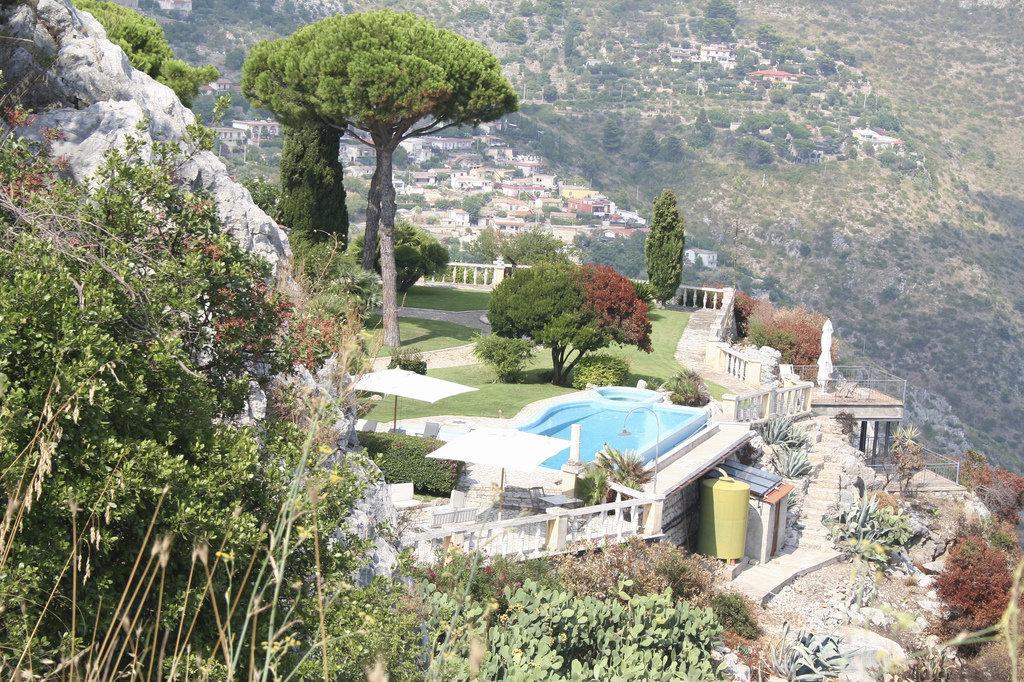 Вид на город Террачина, Италия