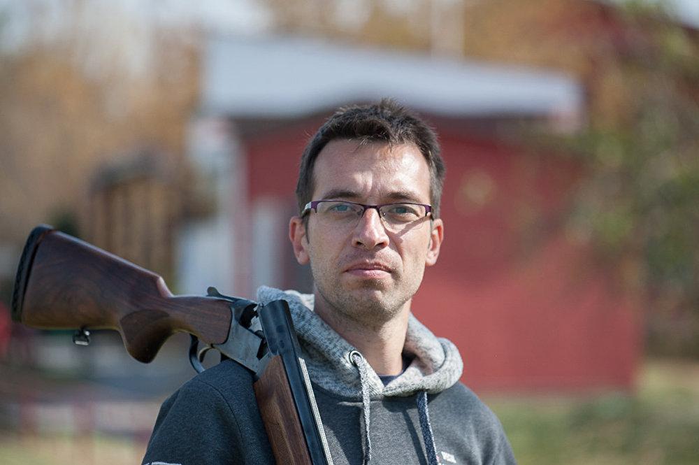 Соревнования по стендовой стрельбе среди журналистов