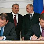 В.Путин мен Н.Назарбаев