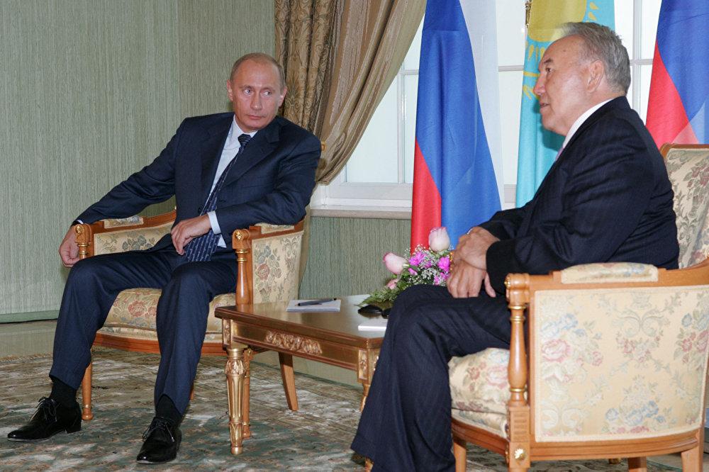 Ресей президенті Владимир Путин Қазақстанға келді