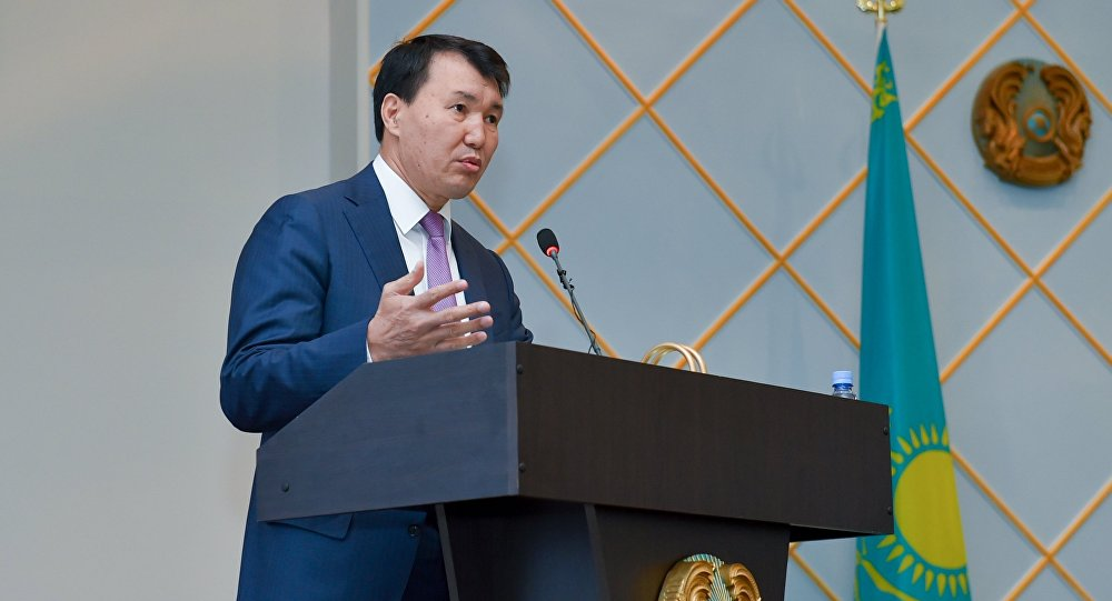 Замглавы АДГСПК Алик Шпекбаев