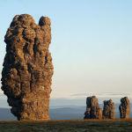 Маньпупунер шоқысы, Ресей