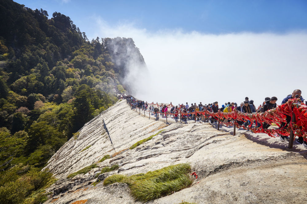 Хуашань тауы, Қытай