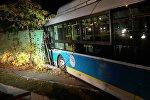 ДТП с участием автобуса в Алматы