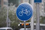 Первый снег в Астане