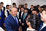 Нұрсұлтан Назарбаев Ақтөбеде Әсем білім беру және таным орталығында болды