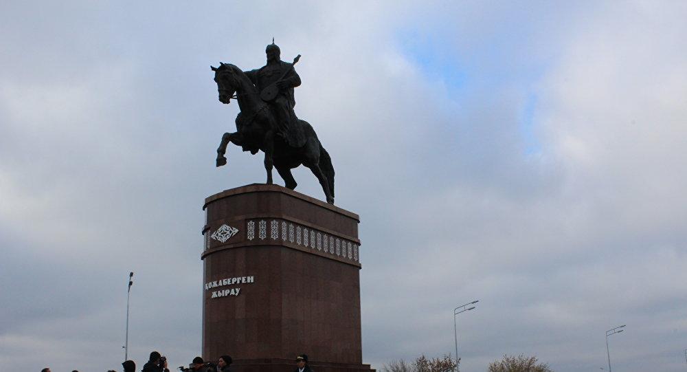 Памятник Кожабергену жырау открыли в Петропавловске