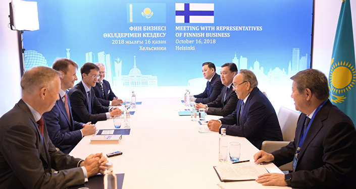 Назарбаев Nokia басшысымен кездесті