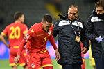Матч Казахстан - Андорра в рамках Лиги нации УЕФА
