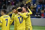 Казахстан обыграл Андорру с разгромным счетом