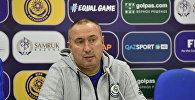 Главный тренер сборной Казахстана Станимир Стоилов