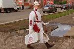 Модные наряды пенсионера сделали его знаменитостью