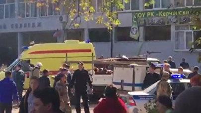 Теракт в Керчи - видео с места событий