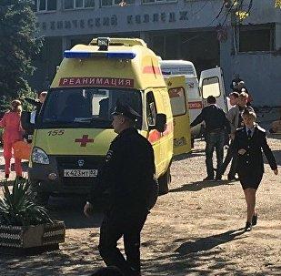 Теракт в политехническом колледже в Керчи