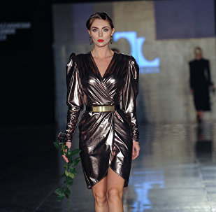 Модный показ Kazakhstan Fashion Week