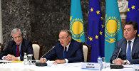Президент Казахстана Нурсултан Назарбаев на встрече с представителями европейских деловых кругов в Бельгии