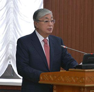 Председатель сената парламента Касым-Жомарт Токаев