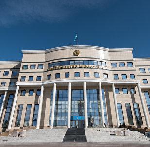 Здание министерства иностранных дел РК В Астане