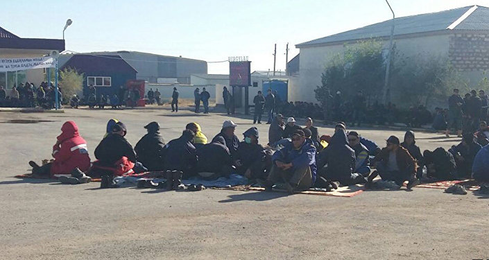Забастовка бурильщиков нефтесервисной компании Бургылау несколько дней продолжается в Жанаозене