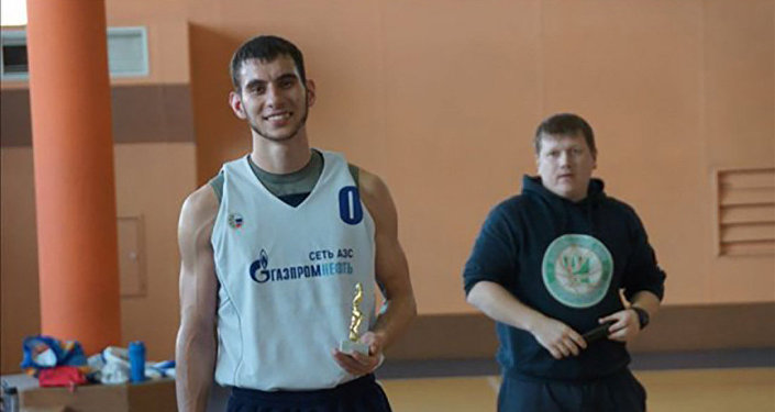 Избитый баскетболист Игорь Нанаев
